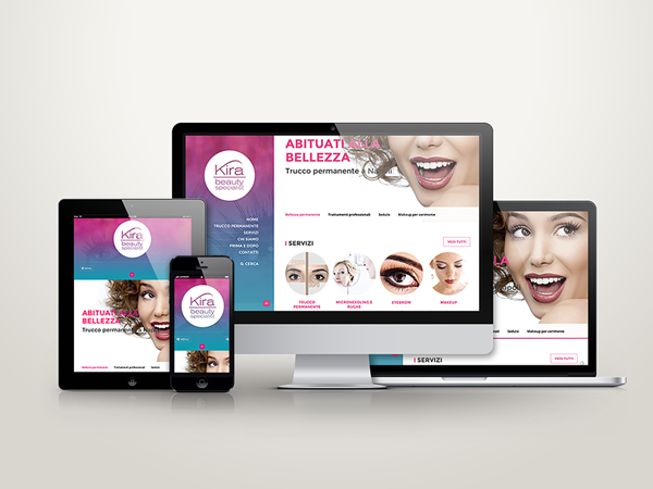 Web design – Kira Beauty Specialist